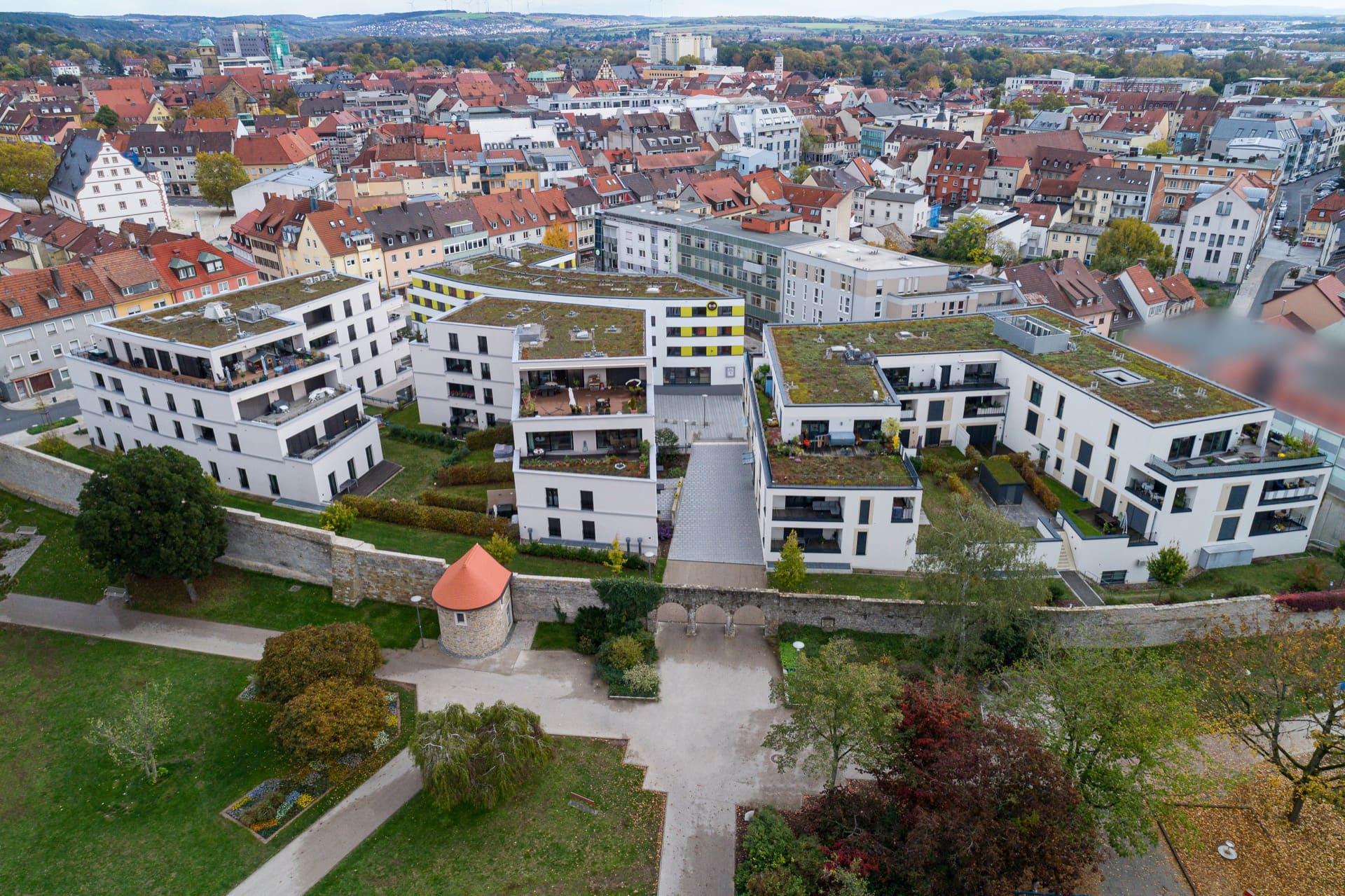 'Neue Hadergasse' – Urbanes Wohnen & Arbeiten Schweinfurt