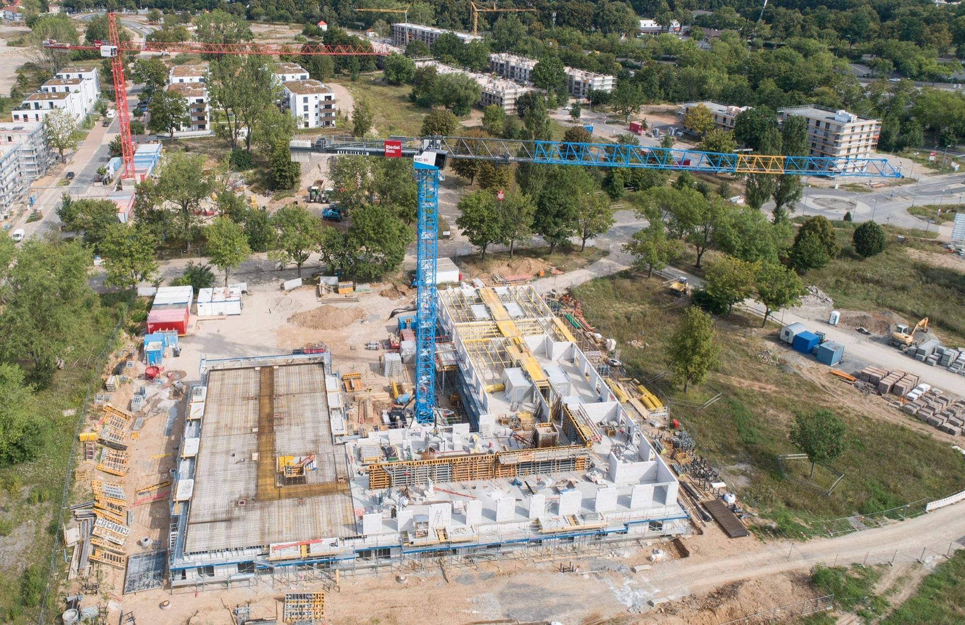 Das vierte Bauvorhaben der Bauprojekte Schweinfurt GmbH & Co. OHG ist bereits gestartet